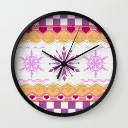 aztec #3 neve Wall Clock