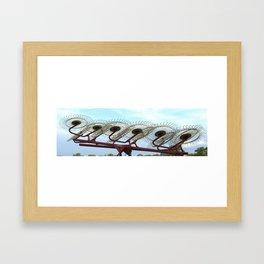DuraRake Framed Art Print