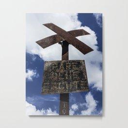 Heavenly Crossroad Metal Print