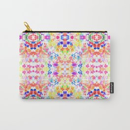 Floral Print - Brights Carry-All Pouch