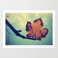 leaf Art Prints featuring Leaf! by Enkel Dika