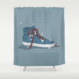 Where are you going? Shower Curtain