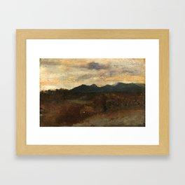 Giuseppe De Nittis - Landscape - Paesaggio Framed Art Print