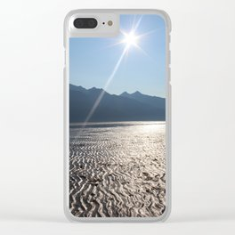 Chilkat River Radiance by Mandy Ramsey Clear iPhone Case