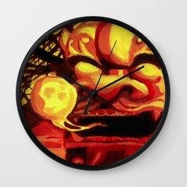 Jellyfish Breath Wall Clock