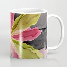 No Sadness, Joy, Fantasy Flower Coffee Mug