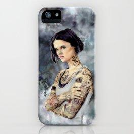 Jane Doe ( Blindspot FANART) iPhone Case