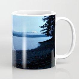 Mountains O'er the Canal Coffee Mug