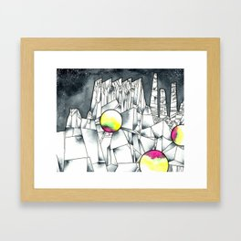 "Aglaura, from ""Invisible Cities"" by Italo Calvino Framed Art Print"