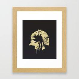 King Framed Art Print