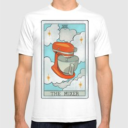 The Mixer   Baker's Tarot T-shirt