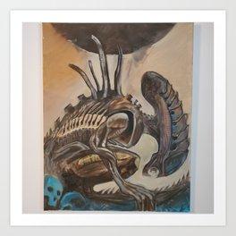 Morphetic Doom Art Print