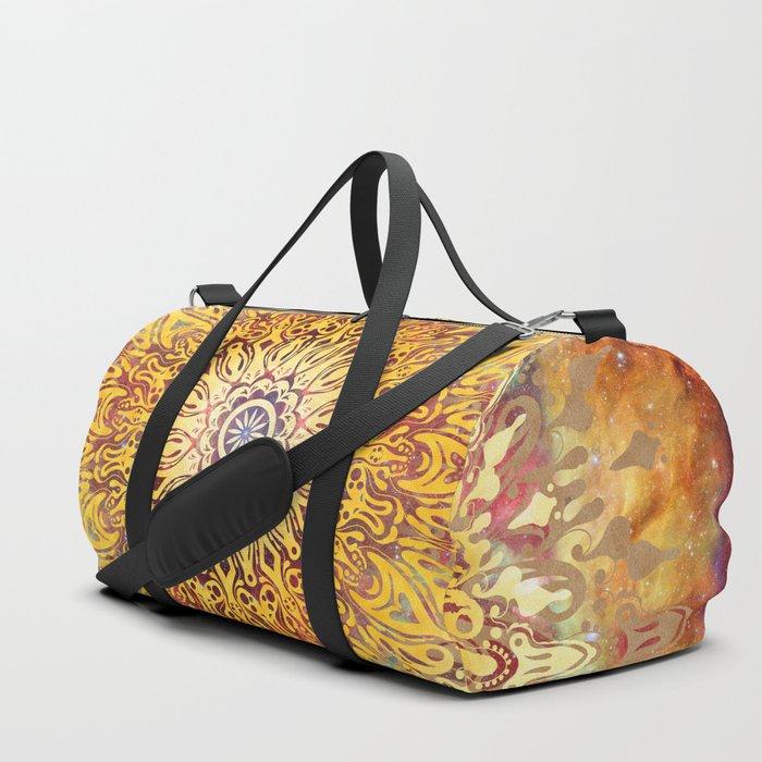 Cygnus Cosmic Mandala Duffle Bag