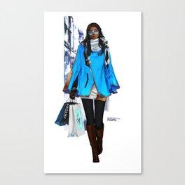Winter Collection - Symmetra Canvas Print