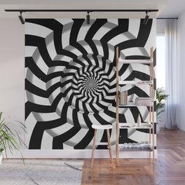 Twisting Wall Mural
