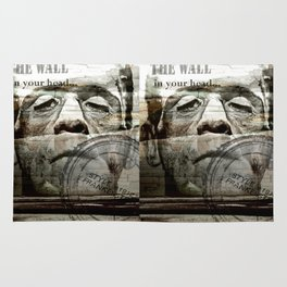 The wall in your head... Rug