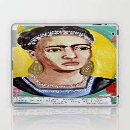 Frida Kahlo painting Laptop & iPad Skin