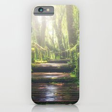 Green Jungle Forest Path iPhone 6s Slim Case