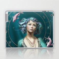 Pisces zodiac fantasy circle Laptop & iPad Skin