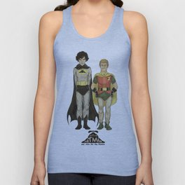 The Adventures of Hat-man and John the Boy Wonder Unisex Tank Top