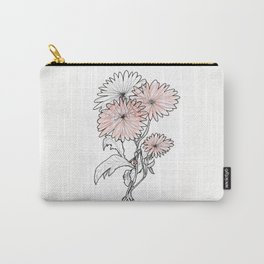 flower illustration Carry-All Pouch
