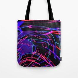 EDM Music Flow Tote Bag