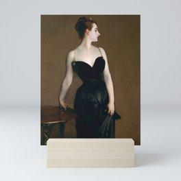 Portrait of Madame X by John Singer Sargent - Vintage Fine Art Oil Painting Mini Art Print