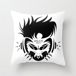 IBIZA BRATS NO.3 Throw Pillow