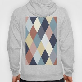 Earth Tones and Blues Geometry IIA Hoody