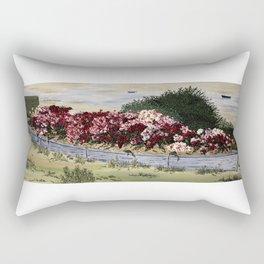 Bateau de pierre Rectangular Pillow