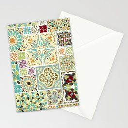 Moroccan Tile Pattern II Stationery Cards