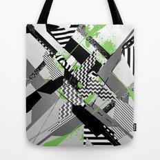 Geometric Digital Tote Bag