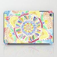 kaleidoscope iPad Cases featuring Kaleidoscope by Syrupea