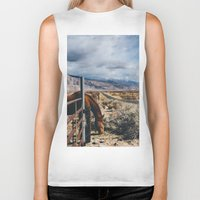 kerouac Biker Tanks featuring type-fast (kerouac had a first name) by heretosaveyouall