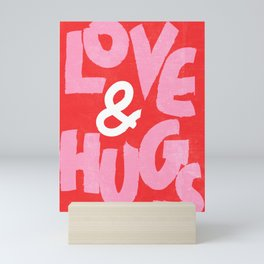 Love & Hugs Mini Art Print
