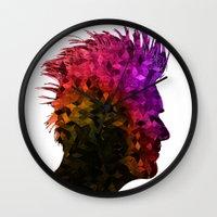 punk Wall Clocks featuring punk by KrisLeov