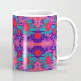 Fluro Flower Coffee Mug