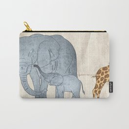 My dad. By Priscilla Li Carry-All Pouch