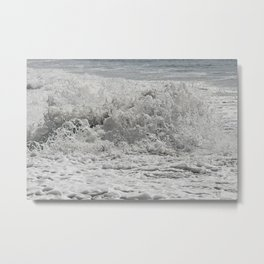 Sea Salted Metal Print