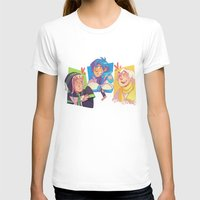 dmmd T-shirts featuring Blue Baby Robot Nerd Trash Prince by Andy Y.