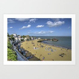 Broadstairs Beach  Art Print