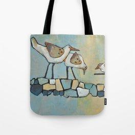 song birds — wake-up call Tote Bag