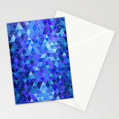 Space blue Stationery Cards