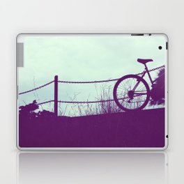fence and bike Laptop & iPad Skin