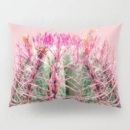 Sweet Pink Cactus Pillow Sham