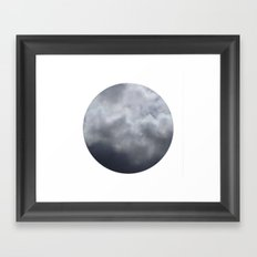 Planetary Bodies - Cloud Framed Art Print