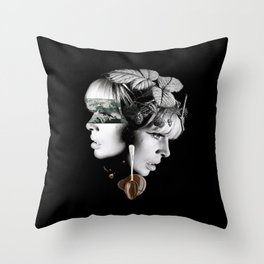 """the word """"don't worry"""" just makes me worry.. Throw Pillow"""