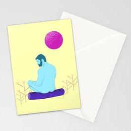 Homem Nu ao Luar Stationery Cards