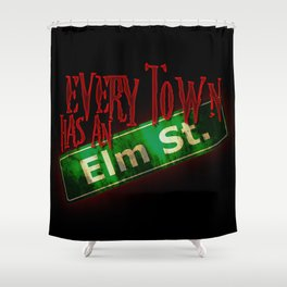 Every Town Elm Street Shower Curtain