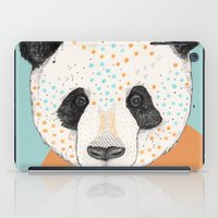 panda iPad Cases featuring Polkadot Panda by Sandra Dieckmann